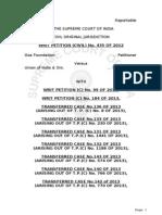Goa Foundation Supreme Court Final Order