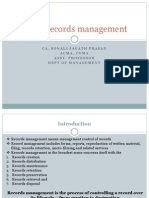 Office Records Management