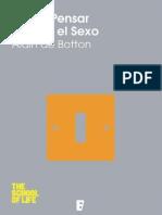De Botton, Alain - Cómo Pensar Más en El Sexo