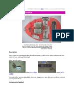 Wall Following Robot Kit
