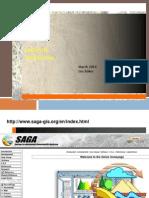 M1 Introduction SAGAgis