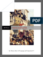ABC Book Scarlet Letter