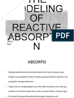 presentasi pemodelan reactive absorption