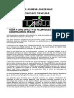 Directives Techniques Pour La Construction en Bois