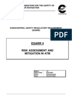 ESARR4 Risk Assessment and Mitigation in ATM