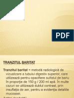 Tranzit Baritat Si Endoscopie