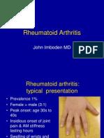 Rheumatoid Arthritis Imboden