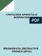 1.Patologie respiratorie
