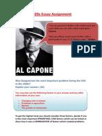 1920s problems essay assignment