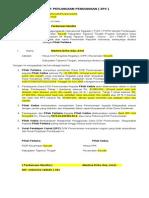 Surat Perjanjian Pendanaan ( Sp2 )