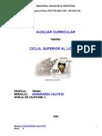 122_Asigurarea Calitatii-Auxiliar Curricular