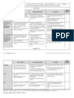 project rubric
