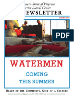 Barrier Islands Center's Spring/Summer Newsletter