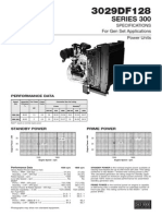 3029DF128 SERIES 300 SPECIFICATIONS For Gen Set Applications