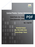 2 Contract Practice and Contract Administration