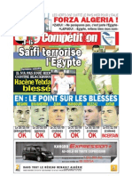 Edition du 08 novembre 2009