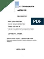 Globalisation PDF