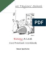 Edexcel Biology as Core Practical Workbook