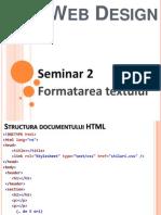 Seminar02 web design
