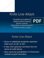Knife Line Attack Welding Defect