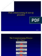 Plant Commissioning Start Up Procedure