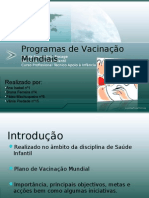 Power Point SI Plano Mundial Vacinação