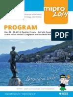 MIPRO 2014. program