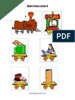 Alphabet Train d