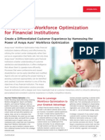 Avaya WFO for Financial Institutions Feb2011