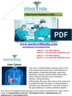 Liver Cancer Treatment at World Best Cancer Hospitals in India