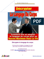 Décrypter Le Langage Du Corps