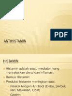 Pertemuan 1 - Antihistamin