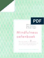 Mindfulness oefenboek - John Teasdale, Mark Williams & Zindel Segal (leesfragment)