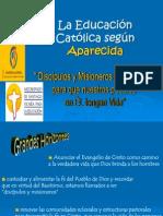 Educación Católica en Aparecida