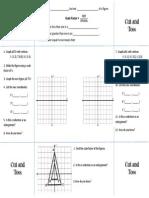 Dilations Foldable INB