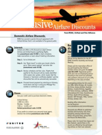 RSNA 2009 Airline Discounts