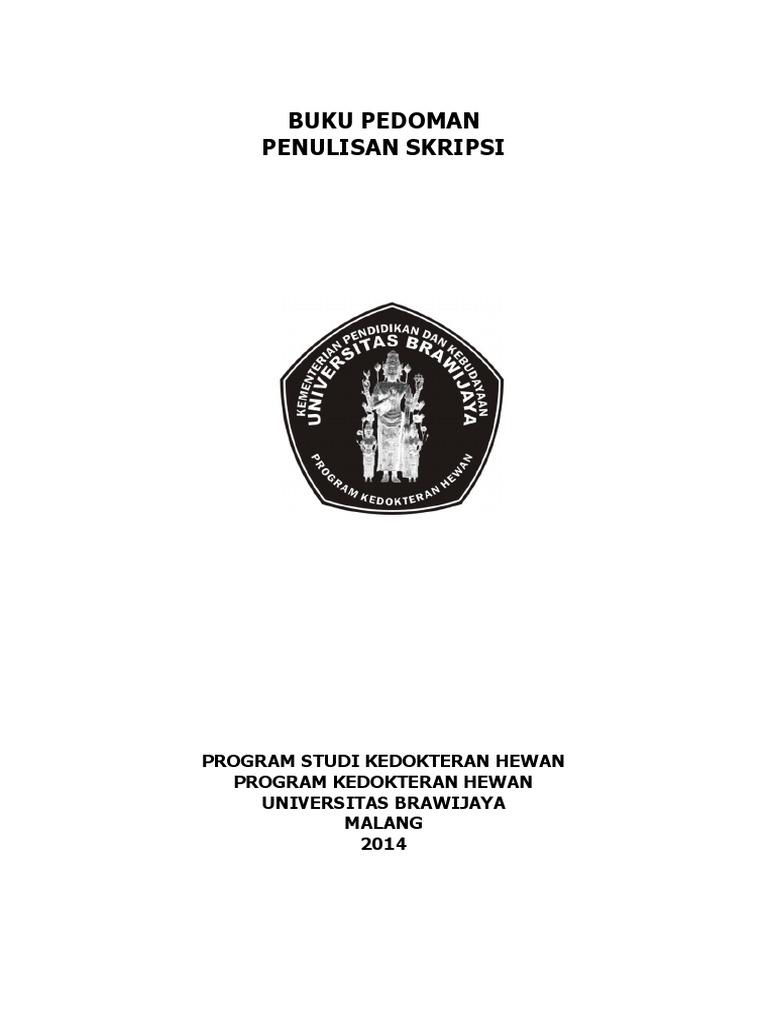 Cover Buku Skripsi Ide Judul Skripsi Universitas