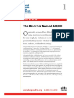 WWK01 the Disorder Named ADHD
