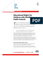 WWK04 Educational Rights for Children With ADHD in Public Schools