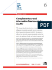 WWK06 Complementary and Alternative Treatments