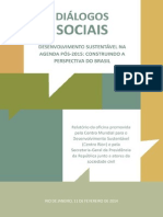 Relatório Diálogos Sociais