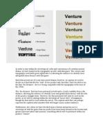 Typography Sheet