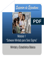 Modulo 1-Minitab Seis Sigma 2013
