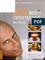 200 Menus Raw Vegan