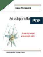 Ariile Protejate in Romania