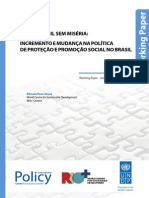 PLANO BRASIL SEM MISÉRIA: INCREMENTO E MUDANÇA NA POLÍTICA DE PROTEÇÃO E PROMOÇÃO SOCIAL NO BRASIL ,