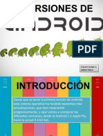 Versiones Android