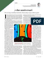 P. Odifreddi - Tre porte e due anniversari