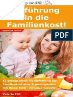 Einführung in die Familienkost - Leseprobe