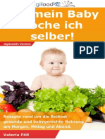 Für mein Baby koche ich selber - Leseprobe